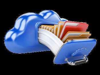 Cloud Storage Concept 50824403 xparent